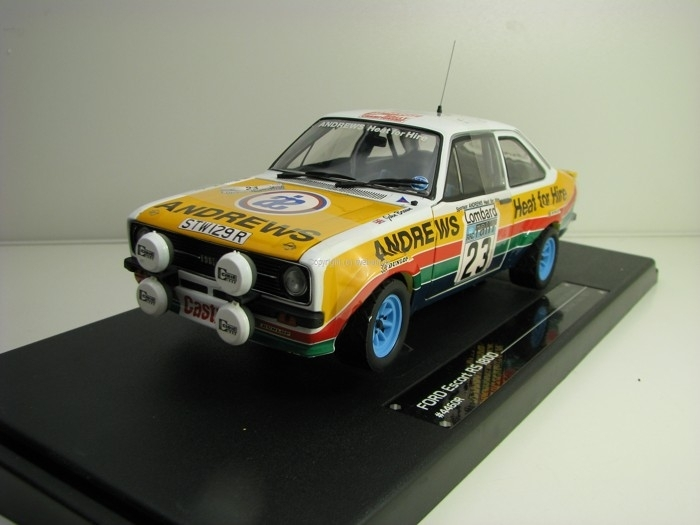 Ford Escort RS1800 3rd RAC Rally 1977 No.23 Brookes 1:18 Sunstar 4460R